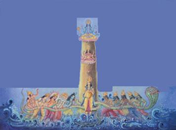 The Devas - Asuras Model of Vedic Astrology