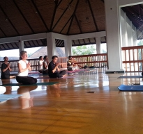 Yoga Class by Kumarji